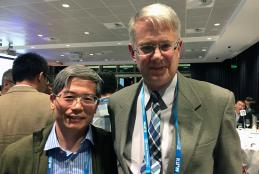 Professor Zheng Hu and J. Badding